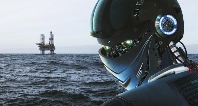 استفاده از رباتهای هوشمند حفاری در دریای شمال
