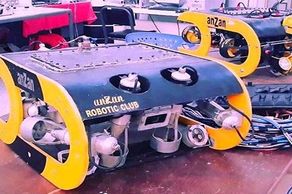 استفاده از ربات زیردریایی وطنی برای حفاری در اعماق آبهای کشور