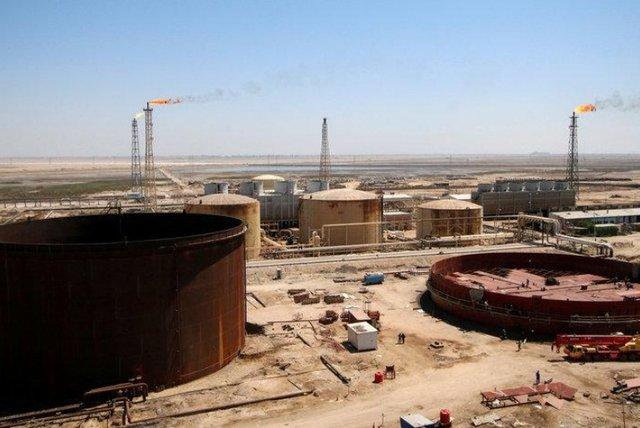 ابرغولهای نفتی به مجنون عراق میروند
