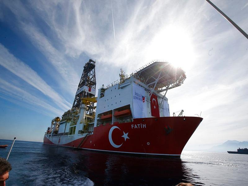 آغاز حفاری نفت و گاز ترکیه در مدیترانه