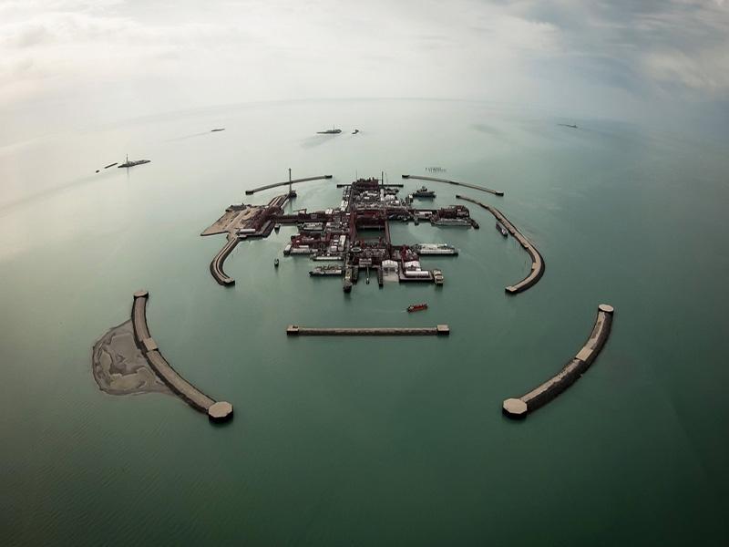 تولید نفت از میدان «کاشاقان» قزاقستان متوقف میشود