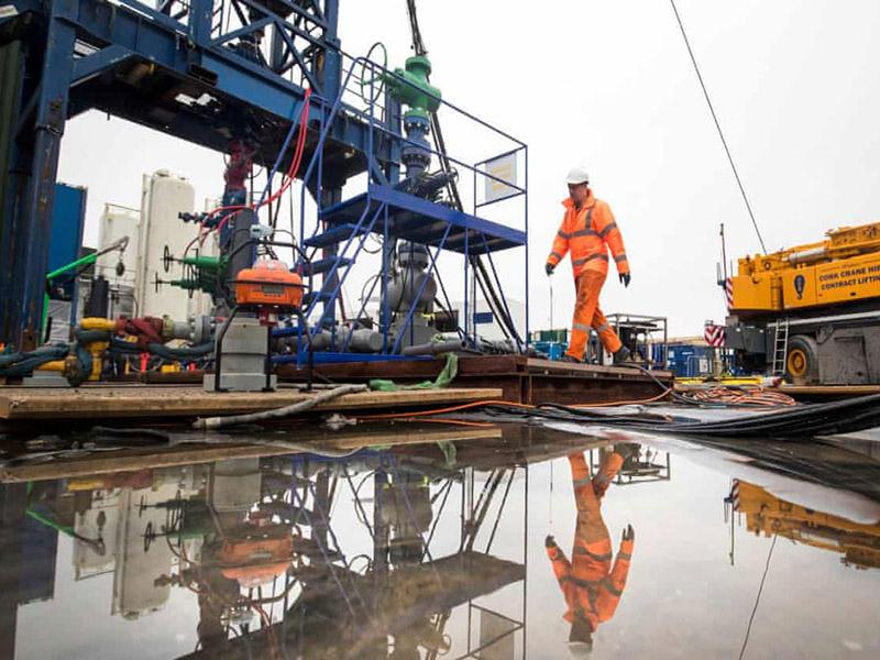 دادگاه انگلیس با استخراج گاز شیل به روش فرکینگ موافقت کرد