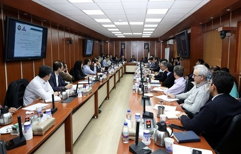 جلسه توجیهی طرح نگهداشت و افزایش تولید میدان رسالت برگزار شد