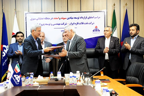 افزایش تولید نفت در خلیج فارس با اجرای طرح افزایش تولید سیری